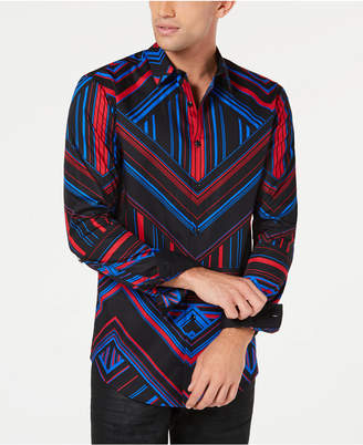 INC International Concepts I.n.c. Mens Pattern Control Shirt
