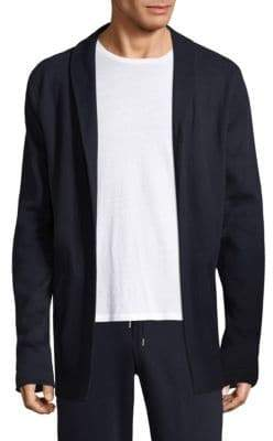 Hanro Roman Reversible Open Front Jacket