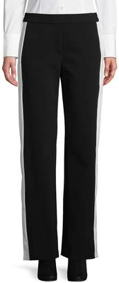 Theory Pull-On Stripe Pants