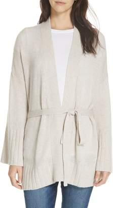 Autumn Cashmere Belted Cashmere Kimono