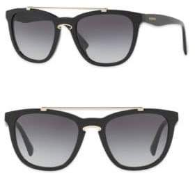 Valentino Rockloop 54MM Square Sunglasses
