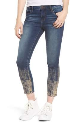 STS Blue Piper Foil Crop Skinny Jeans