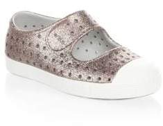 Native Toddler's & Kid's Juniper Bling Perforated Mary Jane