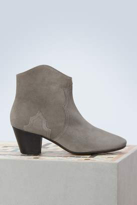 Isabel Marant Dicker leather ankle boots