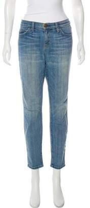 Current/Elliott Current/Elliot Mid-Rise Skinny Jeans