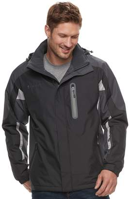 Free Country Big & Tall Colorblock Hooded Jacket