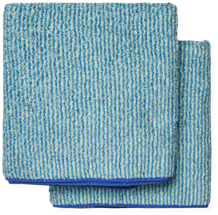 Abyss & Habidecor Cocoon Cotton Bath Sheets (Set of 2)