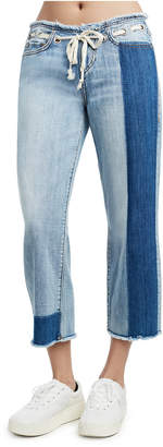 True Religion STARR CROP STRAIGHT WOMENS JEANS