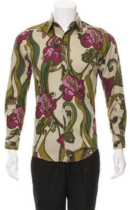 Dolce & Gabbana Floral Button-Up Shirt