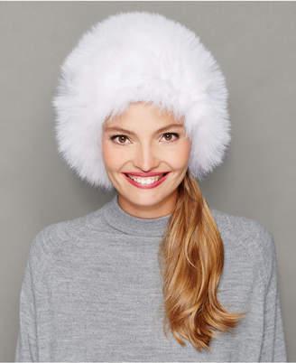 The Fur Vault Fox Fur Hat
