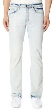 Buffalo David Bitton Six-X Crinkled Bleach Jeans
