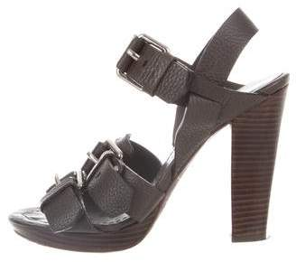 Theory Multistrap Buckle Sandals with credit card free shipping W1zZL