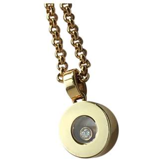 Chopard Happy Diamonds yellow gold necklace
