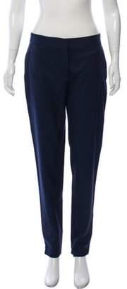 Stella McCartney Skinny Wool Pants Blue Skinny Wool Pants
