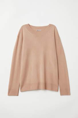 H&M Cashmere Sweater - Beige