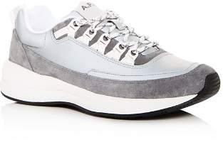A.P.C. Men's Techno Homme Lace Up Sneakers Shoes