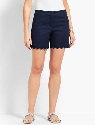 "Talbots 5"" Textured Scallop Short"