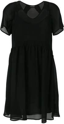 Twin-Set v-neck flared dress