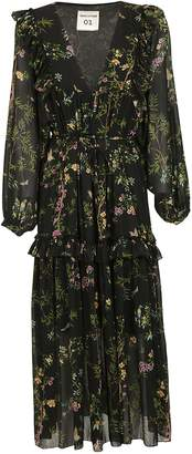 Semi-Couture Semicouture Floral Dress