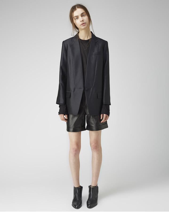 Alexander Wang seamed lapel blazer