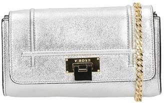 Visone Patty Laminated Silver Leather Bag