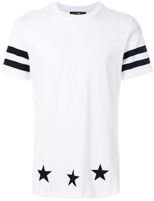 Hydrogen striped star T-shirt