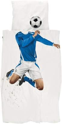 Snurk Soccer Print Cotton Duvet Cover Set