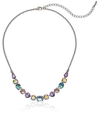Sorrelli Women's Tansy Half Line Necklace