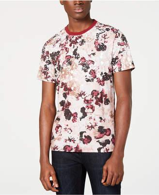 INC International Concepts I.n.c. Men Floral Graphic T-Shirt