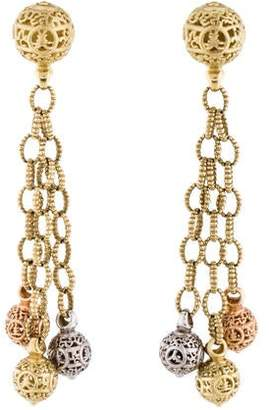 Lagos 18K Ball Drop Earrings