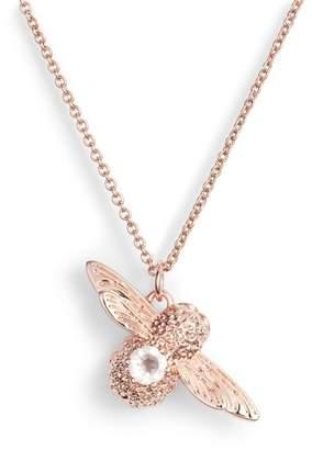 Olivia Burton Bejewelled Bee Pendant Necklace