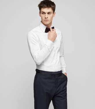 Reiss Henrick Double-Cuff Dinner Shirt