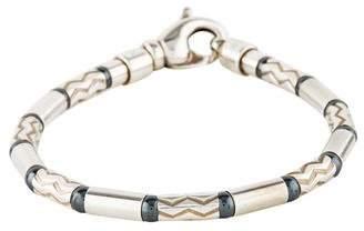 Tiffany & Co. Hematite Aztec Zigzag Bracelet