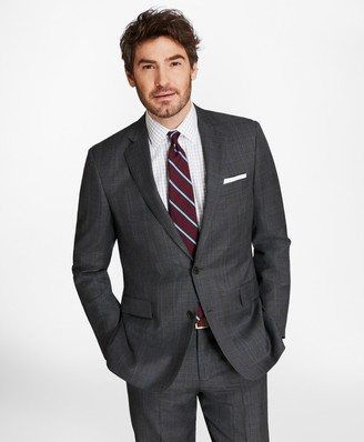 Brooks Brothers Regent Fit Plaid with Deco 1818 Suit