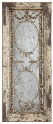 3r Studio Rectangle Wood Framed Antiqued Mirror