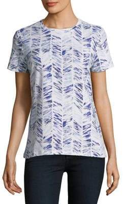 Lord & Taylor Petite Casual Printed Tee