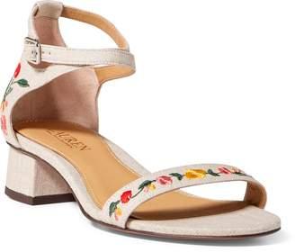 Ralph Lauren Betha II Linen Sandal