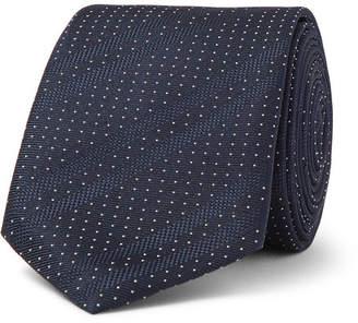 HUGO BOSS 6cm Polka-Dot Silk Tie