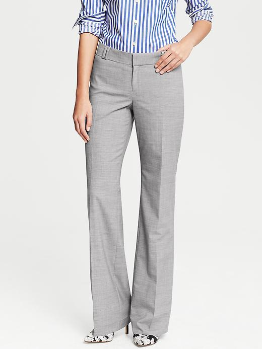 Banana Republic Jackson-Fit Grey Lightweight Wool Trouser