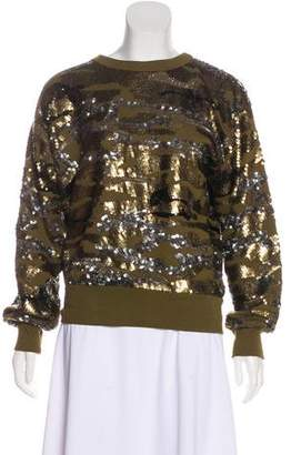 Isabel Marant Sequined Knit Sweater