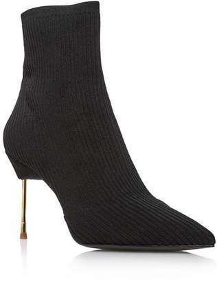 Kurt Geiger Women's Barbican Pointed Toe Knit Booties