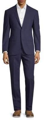 Corneliani Checkered Wool Suit