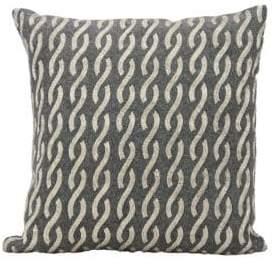 Nourison Braid Patterned Down Pillow