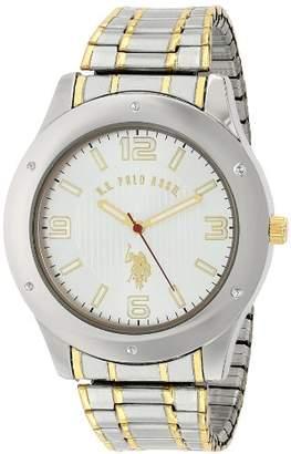 U.S. Polo Assn. Classic Men's USC80013 Oversized Bezel Dial Expansion Watch