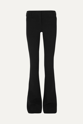 Tom Ford Cashmere-blend Flared Pants - Black