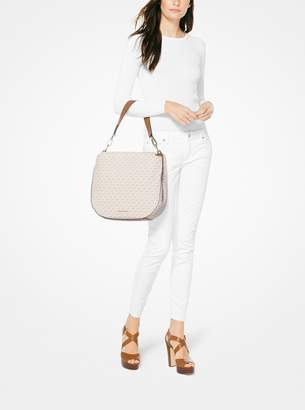 MICHAEL Michael Kors Fulton Large Logo Shoulder Bag