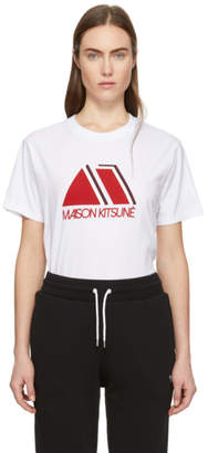 MAISON KITSUNÉ White Triangle T-Shirt