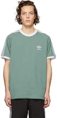 adidas Green 3-Stripes T-Shirt