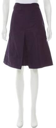 Lida Baday Pleated Knee-Length Skirt