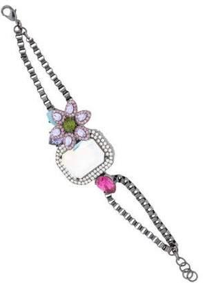 Erickson Beamon Rocks Crystal Bracelet